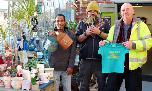 charity garden shop thanks mystery donor