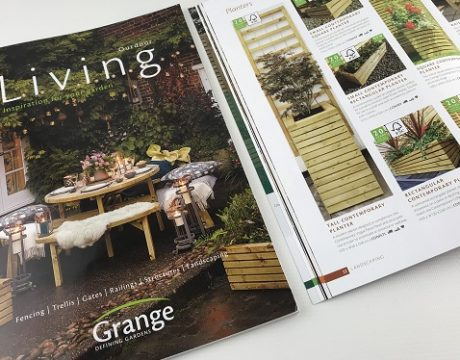 Grange Fencing's new consumer-facing brochure