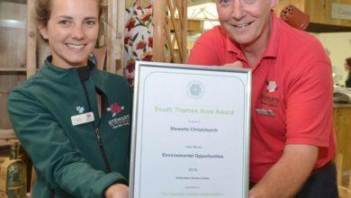 Stewarts gets environment award