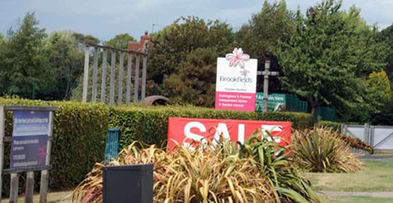 Brooklands garden centre