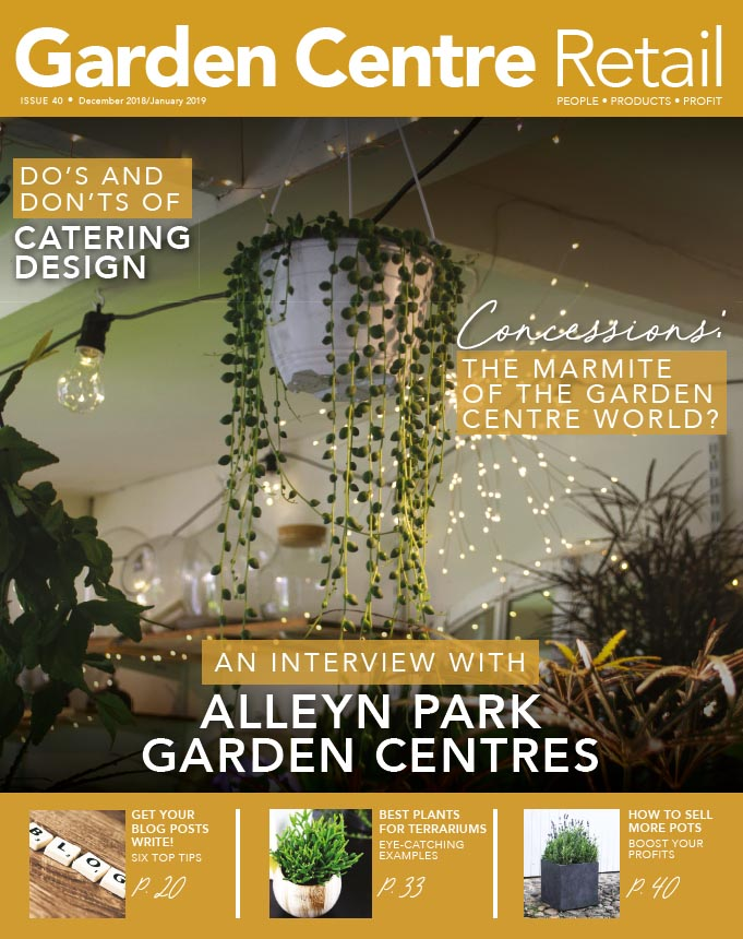Garden Centre Retail December/January